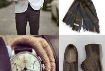 Fashion for Men / Fashion doesn't always involved just women! Find some ideas for fashion for men right here.
