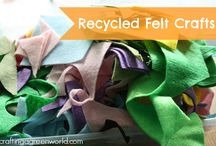 Sewing and Other Fabric Crafts / Eco-friendly fabric crafts and sewing projects. / by Crafting a Green World
