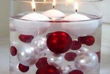 Červeno-zlaté Vánoce - Red gold Christmas