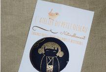 Mes badges / Broches textiles / Créations de L'atelier du petit oiseau