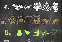 Halloween Fonts, Clipart, and Photoshop / Fonts,Clipart, and Photoshop ideas for Halloween