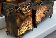 декор деревянных поверхностей