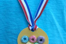 olympic themed crafts