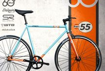 """""""GULF 55"""" 60Streets Daiquiri Limited Edition Fixed Gear Single Speed Fixie Bike / 60Streets Daiquiri Limited Edition """"GULF 55"""" Fixed Gear Single Speed Fixie Bike Bicycle Urban"""