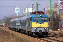 vlaky - Maďarsko, Rumunsko, Balkán