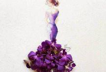 inspiração com flores