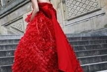 RED Wedding dresses / A collection of Red wedding dresses