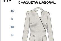 Corporativos / Patrones y diseños de ropa de trabajo para la industria, oficina, clínicas y hospitales.