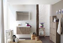 Bagno Lavanderia / Un bagno può essere multifunzione, coniugare bellezza e funzionalità con #mobili spaziosi e progettati nel dettaglio. realizzare un bagno #lavanderia è facile e divertente. Arbi arredobagno dedica la cllezione bolle all'ambiente lavanderia