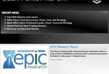 Equity Tips /  Epic Research is one of the pioneers in the Indian financial tips industry to adopt best practices in research and delivery of its services to clients in India and globally. Clients trust the Epic brand for delivery of most accurate and timely tips across segments like equities, commodities and currency and with scrips for BSE, NSE, MCX, NCDEX and COMEX.