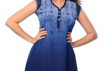 Kurtis & Tunics / Indian ethnic fashion wear like Kurti and Tunic for young and bubly.