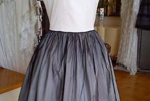 Lina Liri's Elegant High Fashion Dress Fourreau Style With Tulle. / Lina Liri's Elegant High Fashion Dress Fourreau Style With Tulle.