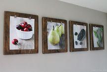 Faliképek, fal dekorációk - Wall decoration