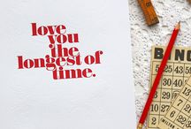 Typography Love  / by Jenica Smith