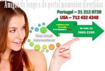 Chat Brasil Internacional .. Amigos por todos os lados / SEJAM BEM-VINDOS!  O CHAT BRASIL INTERNACIONAL, IDEAL PARA FAZER AMIGOS SEM SAIR DE CASA NO BRASIL, PORTUGAL   MELHORES 7 DDDS PARA ACESSO AO CHAT EM QUALIDADE DE ÁUDIO PARA CHAMADAS LOCAIS E DDD DE CELULARES E FIXOS : (11)- 3995-2260 (62) 3181-0026 (85) 2181-6138 - (21) 3195-4070 (31) 3195-4070 (41) 3195-4070 (51) 3195-4070 (51) 3191-9000 (98) 3190-0940 (54) 3198-9500 (69) 2222-0013  NO ESTRANGEIRO PORTUGAL LIGUE: 21 212 8720