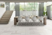 Living room inspiration - tiles and wooden flooring / We have more creative design ideas for your living room floor & wall tiles to suit your home.