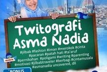 Asma Nadia, my fav writer
