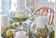 DIY - Table Centerpieces / Pretty Centerpieces for Your Table