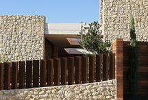 Cierres parcela viviendas de diseño