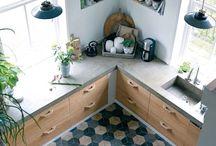 cocinas cemento pulido