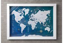 Mapa para Marcar Viagens