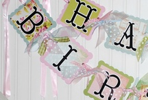 Birthday - BANNERS & GARLANDS / by Becky Arcizo