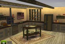 Meubles et objets pour les cuisines