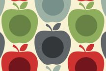 Fruit patterns to paint