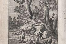 """Fables de La Fontaine - Recueil 1, Livre 2 / Fables of Jean de La Fontaine - illustrations 1765 edition - """"Fables Choisies"""""""
