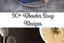 Blender Soup Recipes