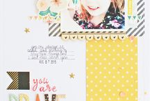 Small Scrapbooking Pages