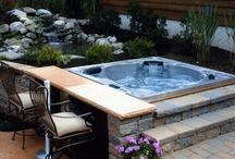 Backyard/spa