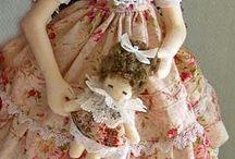 куклы тряпиенсы или текстильная барби