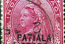 India - Patiala Stamps