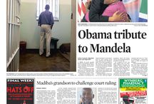 Front Pages - July 2013