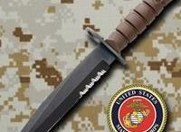 USMC Collection / Check out fixed blades or folding pocket knives in our USMC collection. Find knives for combat utility, tactical rescue and outdoor survival at AtlantaCutlery.com