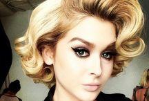 50s inspired hair