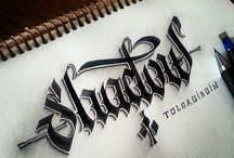 Calligraphy and Lettering / by Amanda Burns