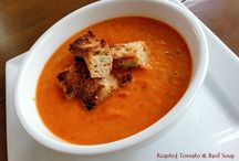 Summer Soups - Roasted Tomato & Basil Soup