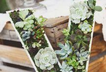 Wedding eco decor