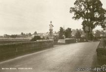 Wilton bridge Herefordshire / Images of the bridge in Herefordshire