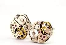Steampunk Cufflinks / 0