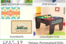 Personalized Gifts for infants, toddlers, mommy/daddy, home decor, holiday gifts and more
