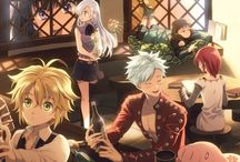 Nanatsu No Taizai / All about anime nanatsu no taizai or seven deadly sins.Such an intersting story,I love this anime >ш<