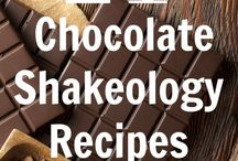 Shakeology / Yummy recipes for chocolate shakeology.