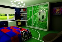 pokój piłka nożna