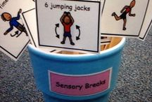 Sensory Regulation / Activities to help children regulate attention, concentration and behaviour
