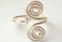 Rings and Wire / I want to learn how to make my jewelry.  / by Cynthia Willhite