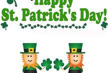 St. Patrick's Day / St. Patrick's Day is de nationale feestdag van Ierland & natuurlijk ook een heel gezellig feestje om te vieren!