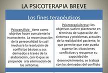 Psicoterapia Breve / En este tablero encontrarás información clara e interesante acerca de la psicoterapia breve, que es una terapia de tiempo limitado y centrada en un objetivo.